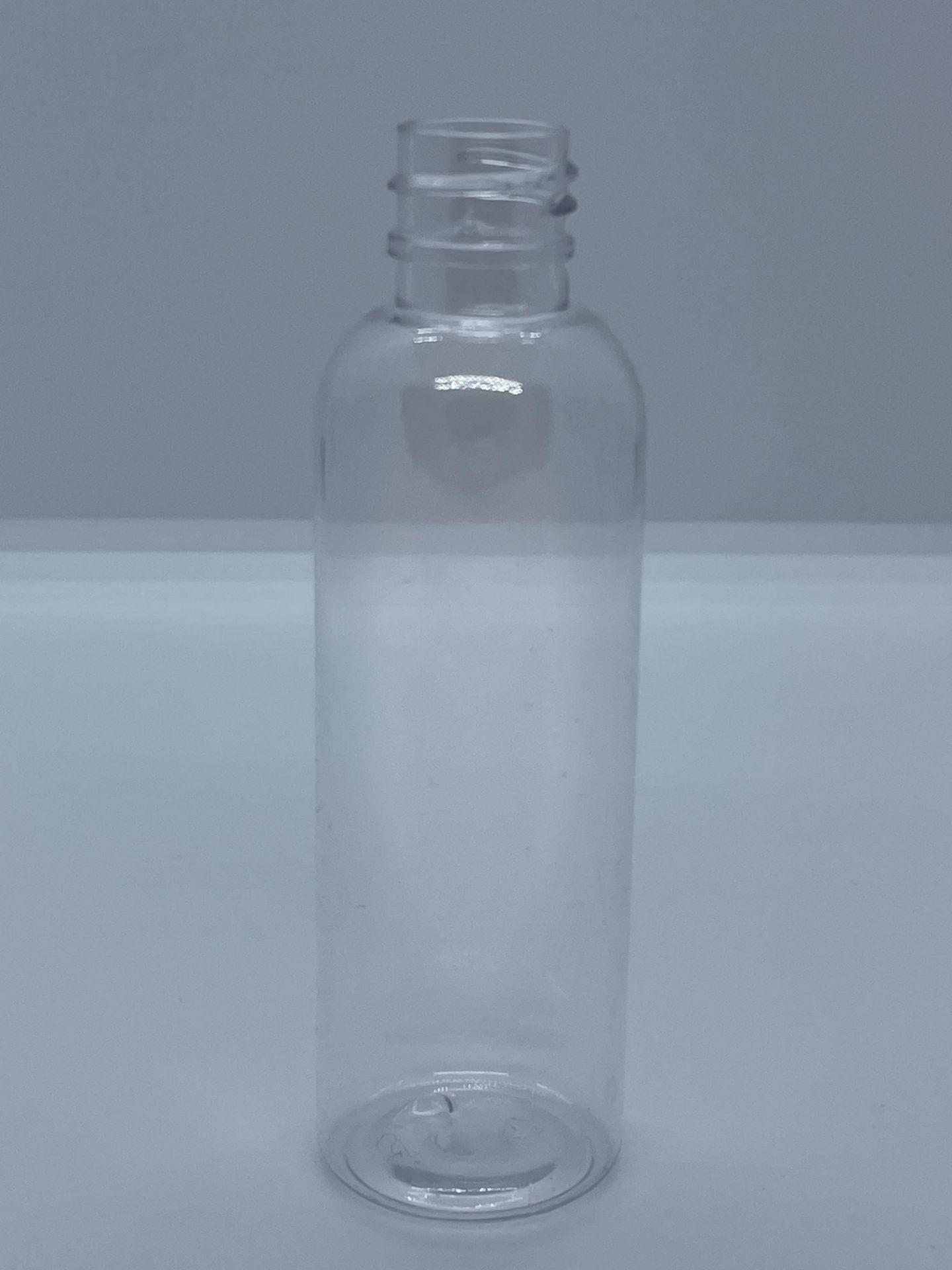 "99,500 - Clear Plastic Bullet 2 oz Empty Bottles, 18-410 Threading Neck, 4.25"" Tall 1.25"" Diameter - Image 3 of 5"