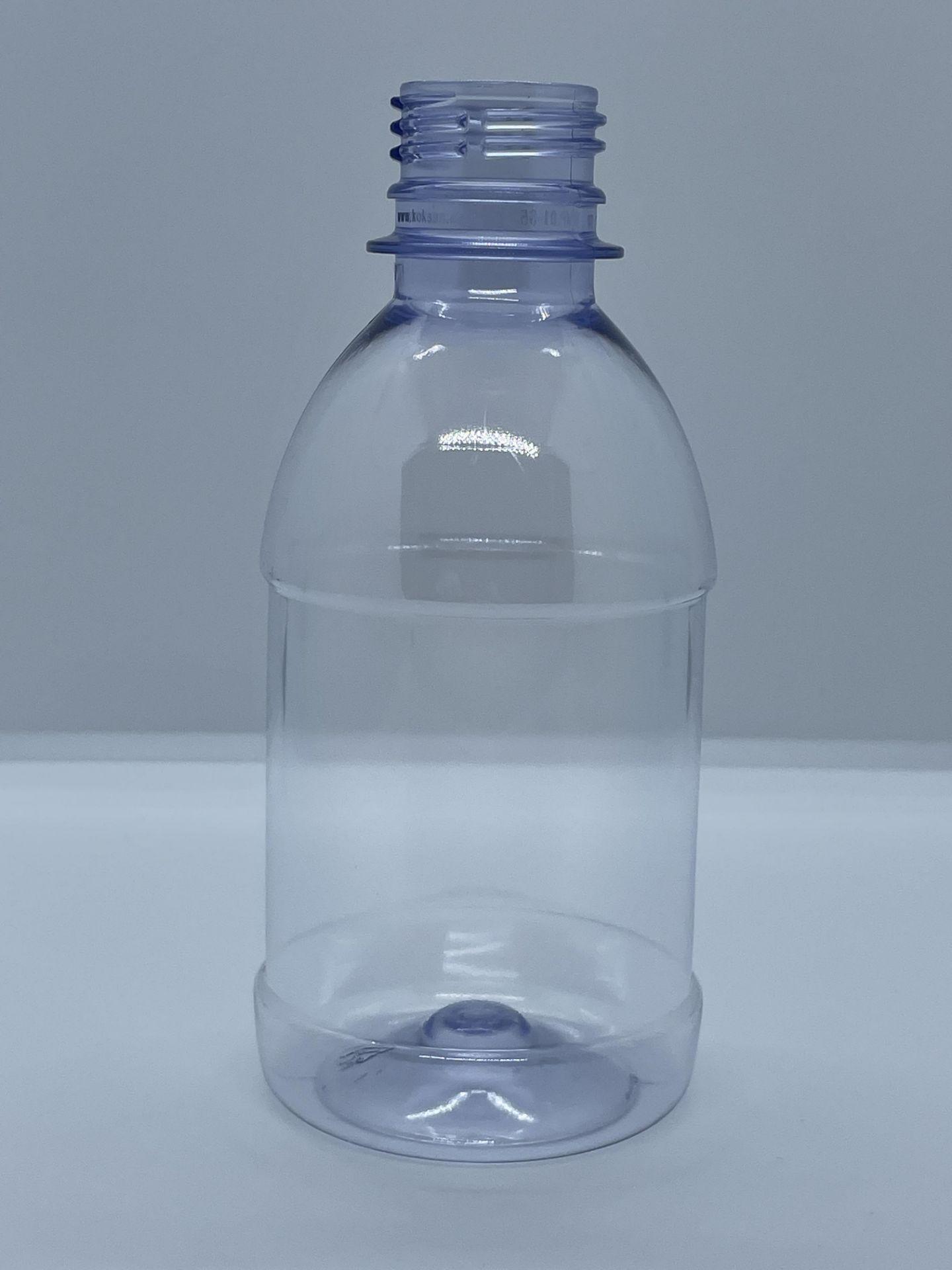 "158,000 - 8 oz Empty Plastic Bottles, Neck Threading 28-410, 5.25"" Tall x 2.25"" Diameter"