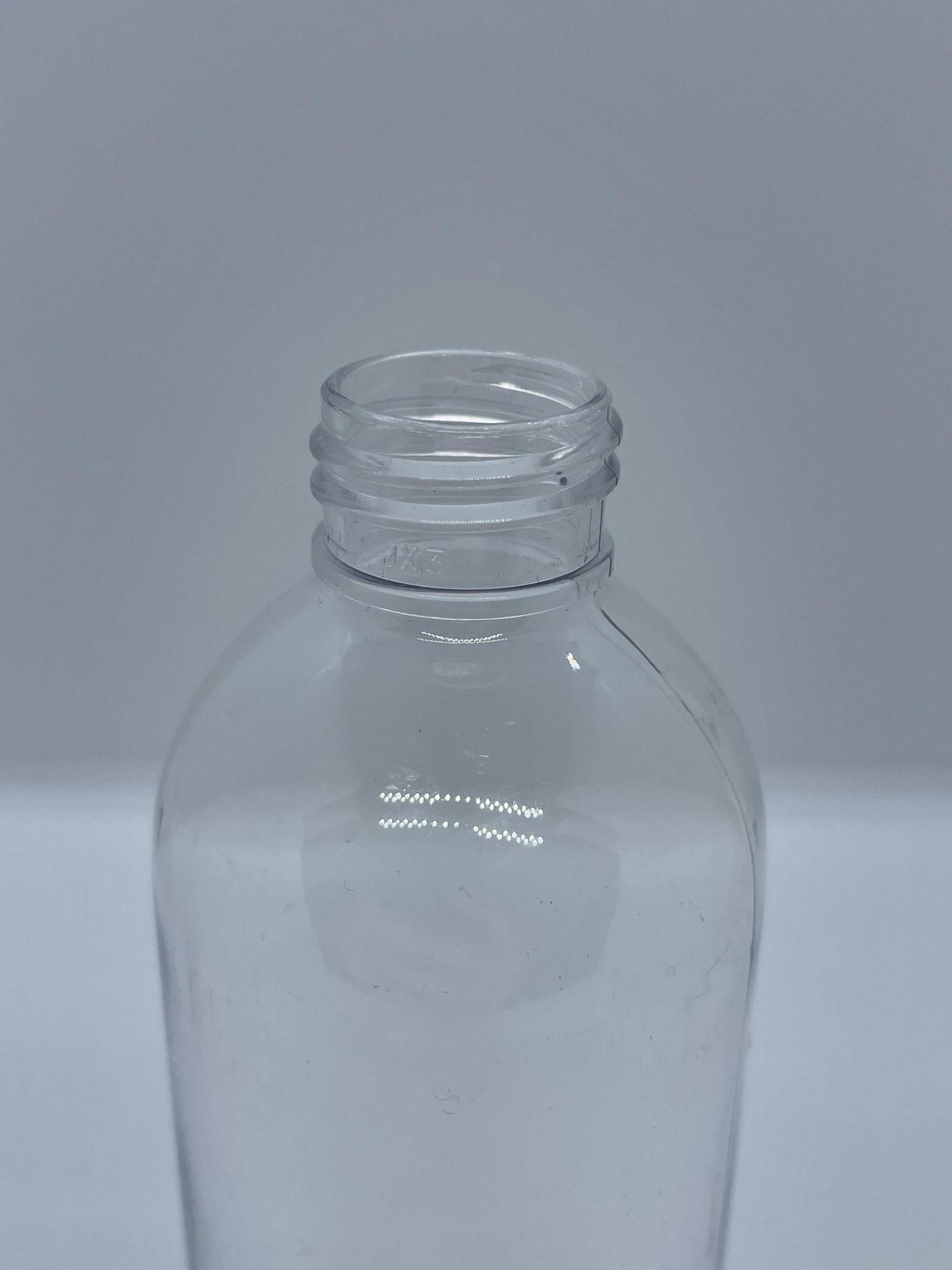 "75,000 - Clear Plastic Bullet 8 oz Empty Bottles, 24-410 Threading Neck, 6.25"" Tall, 2"" Diameter - Image 4 of 5"