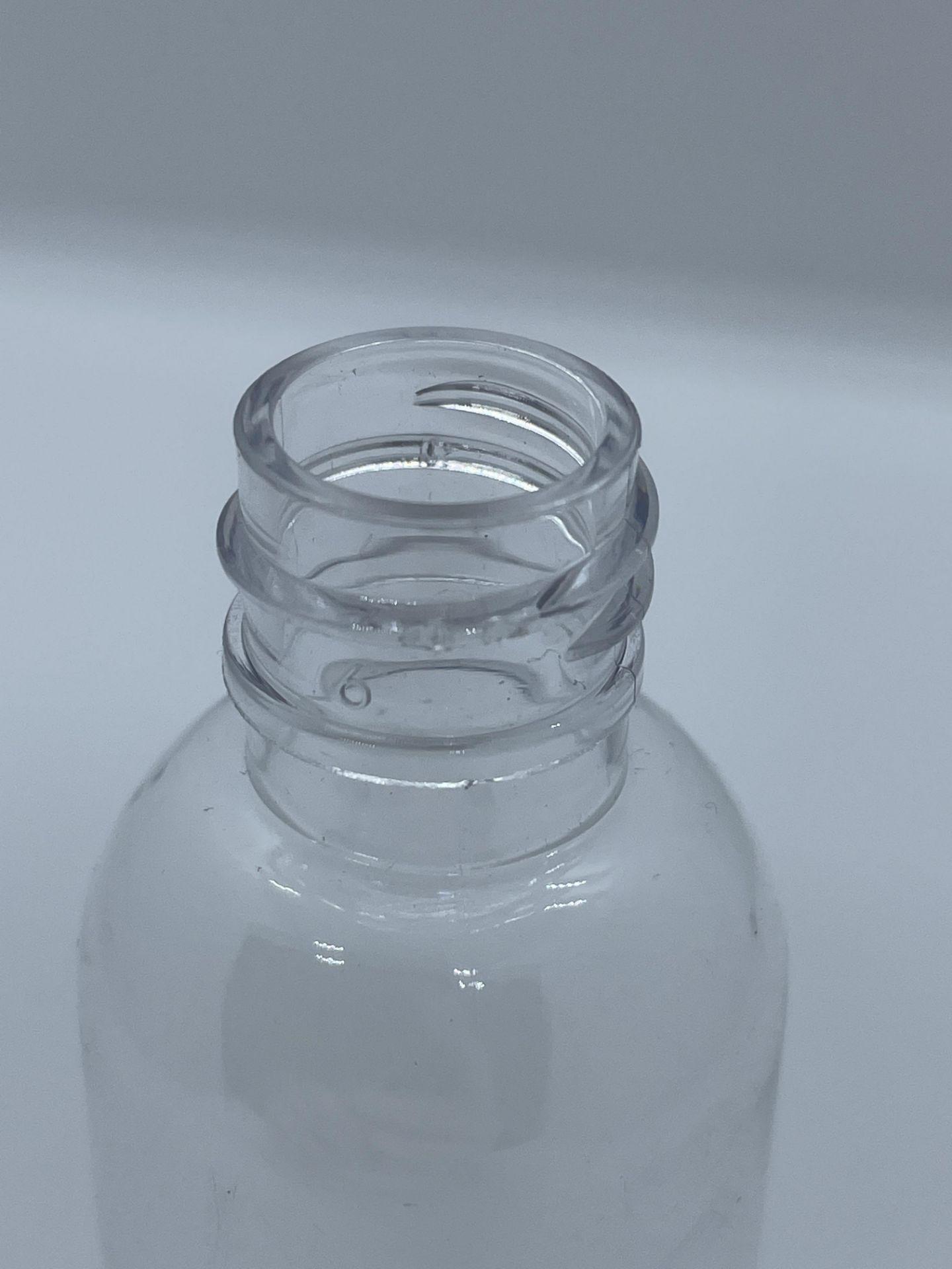 "99,500 - Clear Plastic Bullet 2 oz Empty Bottles, 18-410 Threading Neck, 4.25"" Tall 1.25"" Diameter - Image 4 of 5"