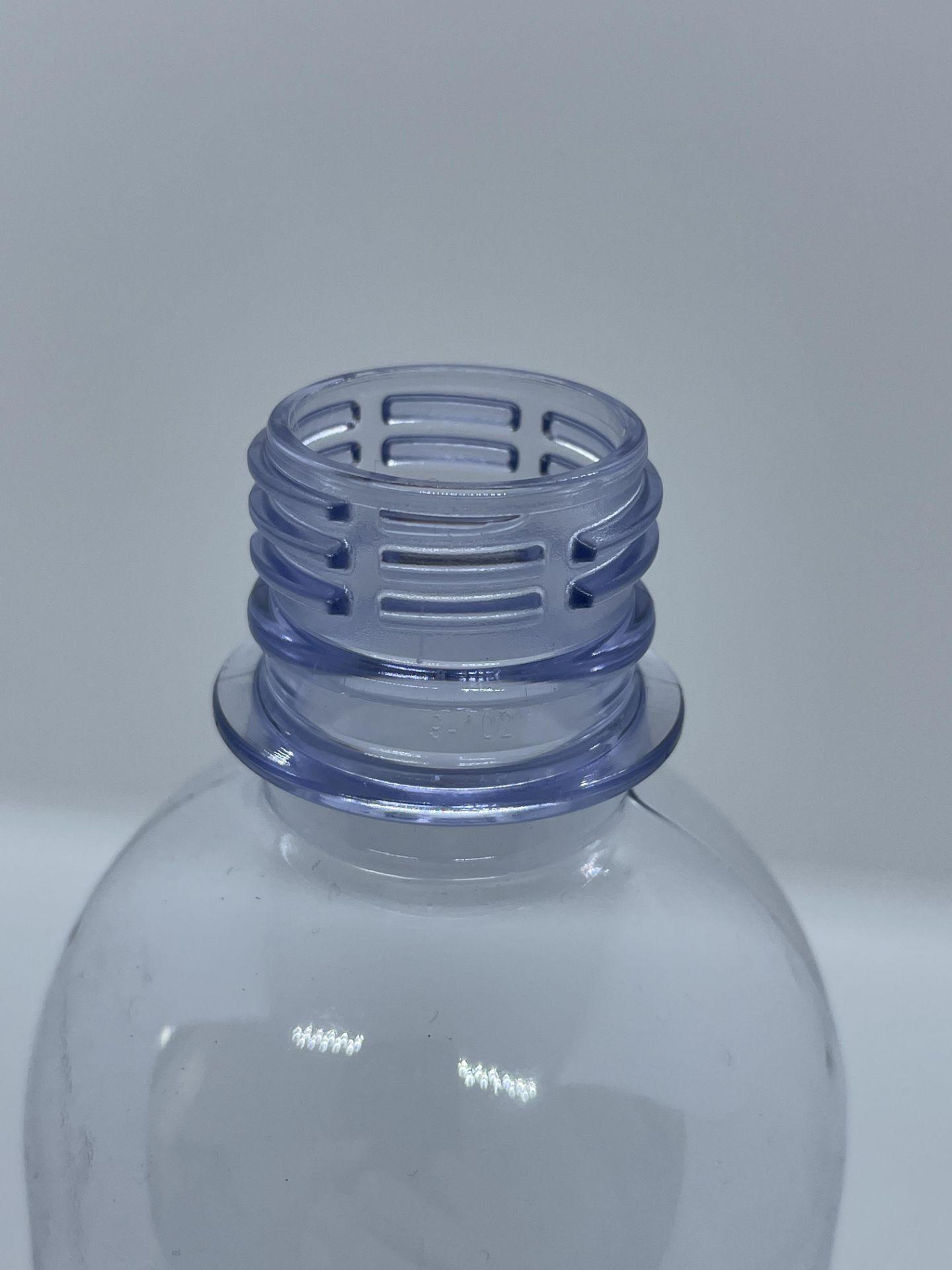 """30,000 - 16 oz Empty Bullet Plastic Bottles, Neck Threading 28-410, 8"""" Tall, 2.5"""" Diameter - Image 7 of 8"""