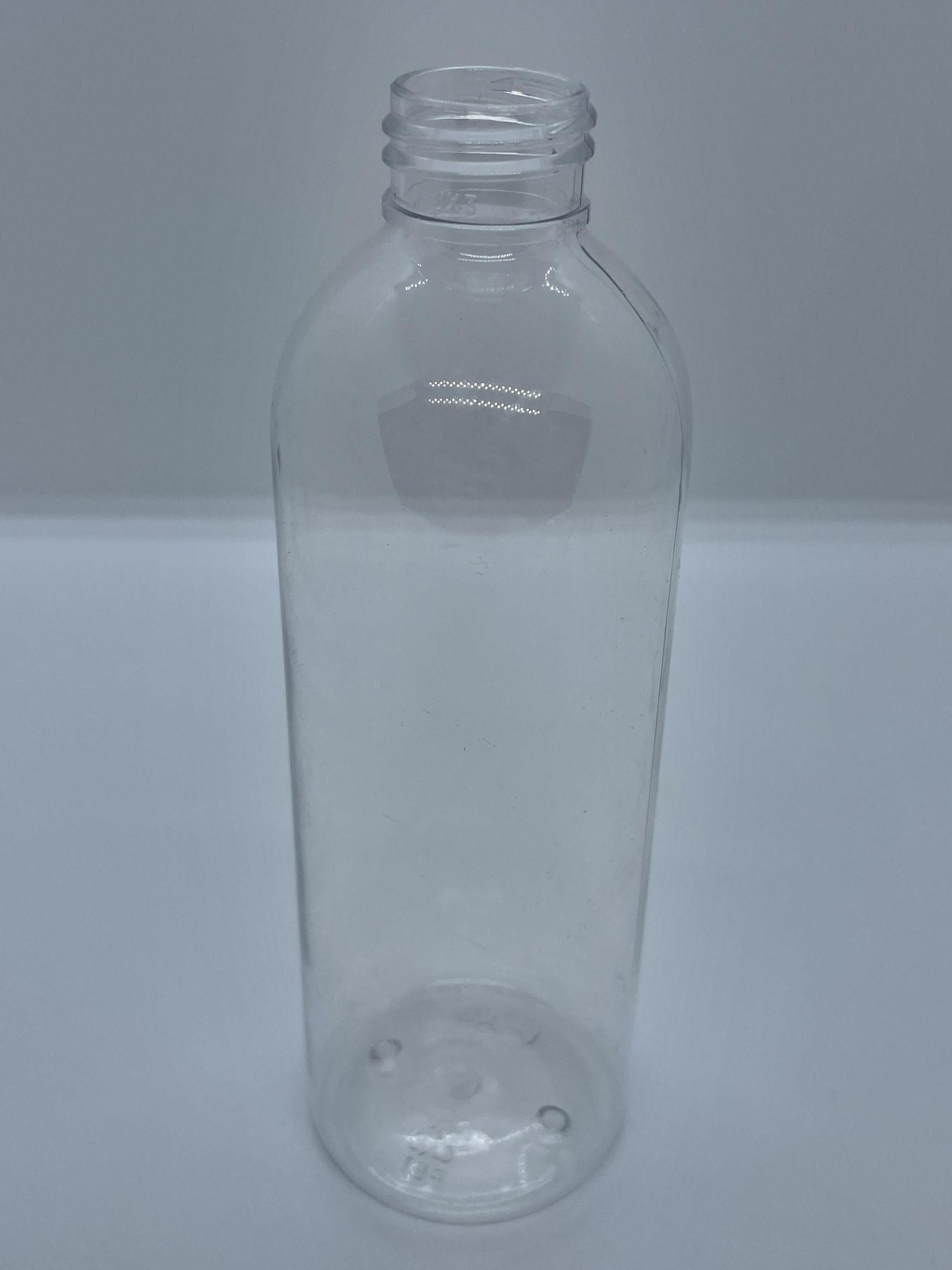 "75,000 - Clear Plastic Bullet 8 oz Empty Bottles, 24-410 Threading Neck, 6.25"" Tall, 2"" Diameter - Image 3 of 5"