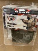 113 Blackwater Gear Grenade Pouches in Ranger Green, Tactical Gear