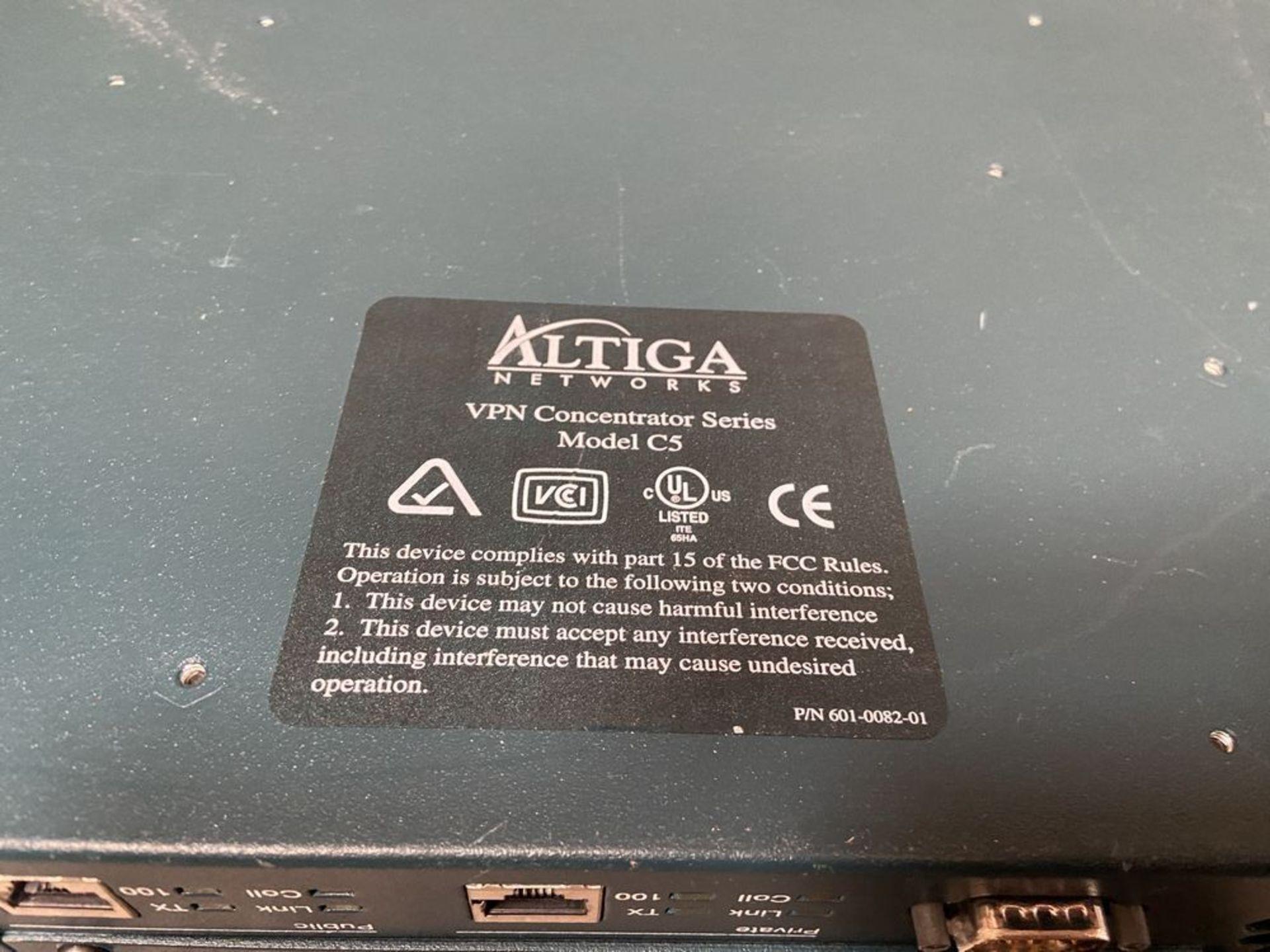 Altiga VPN Concentrator Series Model C5 - Image 8 of 8