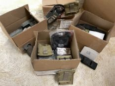 42 Misc Tactical Gear Holders, Holsters, Etc