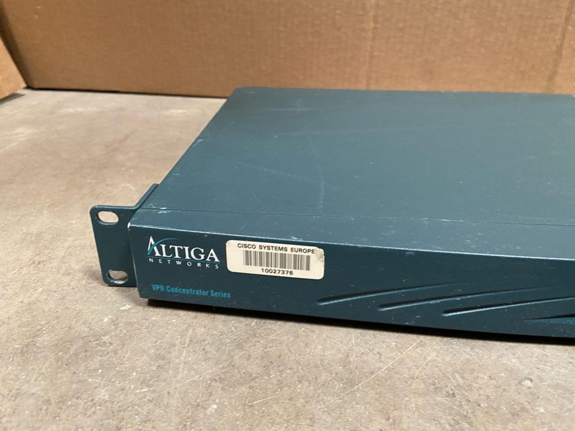 Altiga VPN Concentrator Series Model C5 - Image 3 of 8