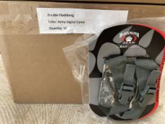 16 Blackwater Gear Double Flashbang Pouches in Digital Army Camo, In Packaging, Tactical Gear