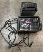 Battery Charger AND Car Radio Unit