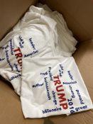 50+ TRUMP 2016 T-Shirts, White Cotton Hanes Shirts, All sizes