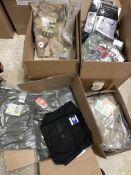 55 Mixed Tactical Pants and Boxers: Dockers Pants, Magnum Boxers, Rothco Pants, Woolrich Shirts, Etc