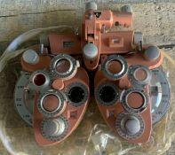 American Optical Minus Cylinder Phoropter Model 11320 Optometry Phoroptor