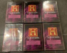 6 HISTORY MOVIE DVD'S ON CHINA'S HISTORY