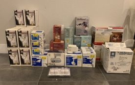HUGE LOT OF BRAND NEW LIGHT FIXTURES, GREAT FOR RESALE LOT
