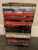 COLLECTION OF DVD'S ALL POPULAR TITLES FULL SNAP CASES