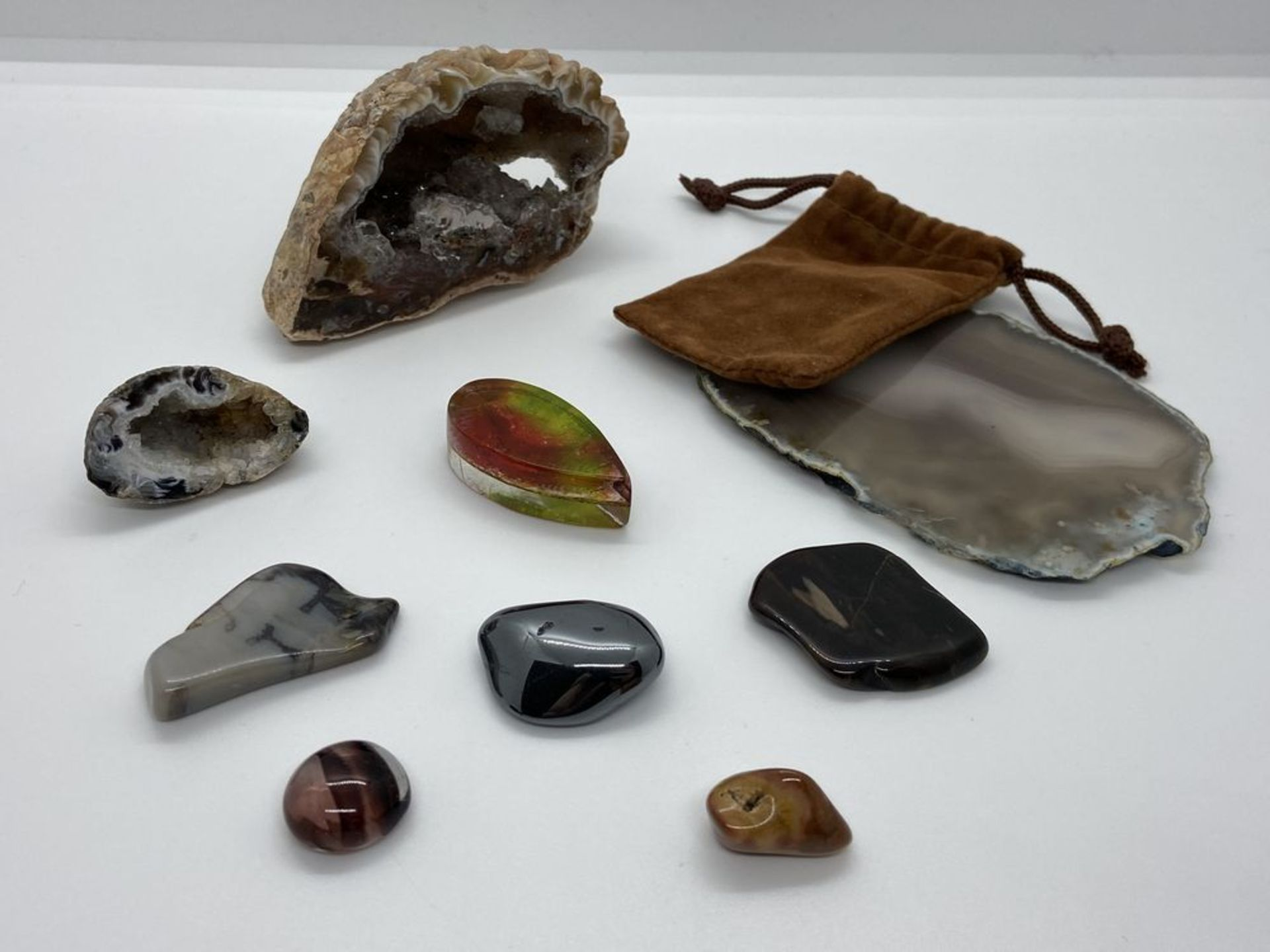Collection of rocks, stones