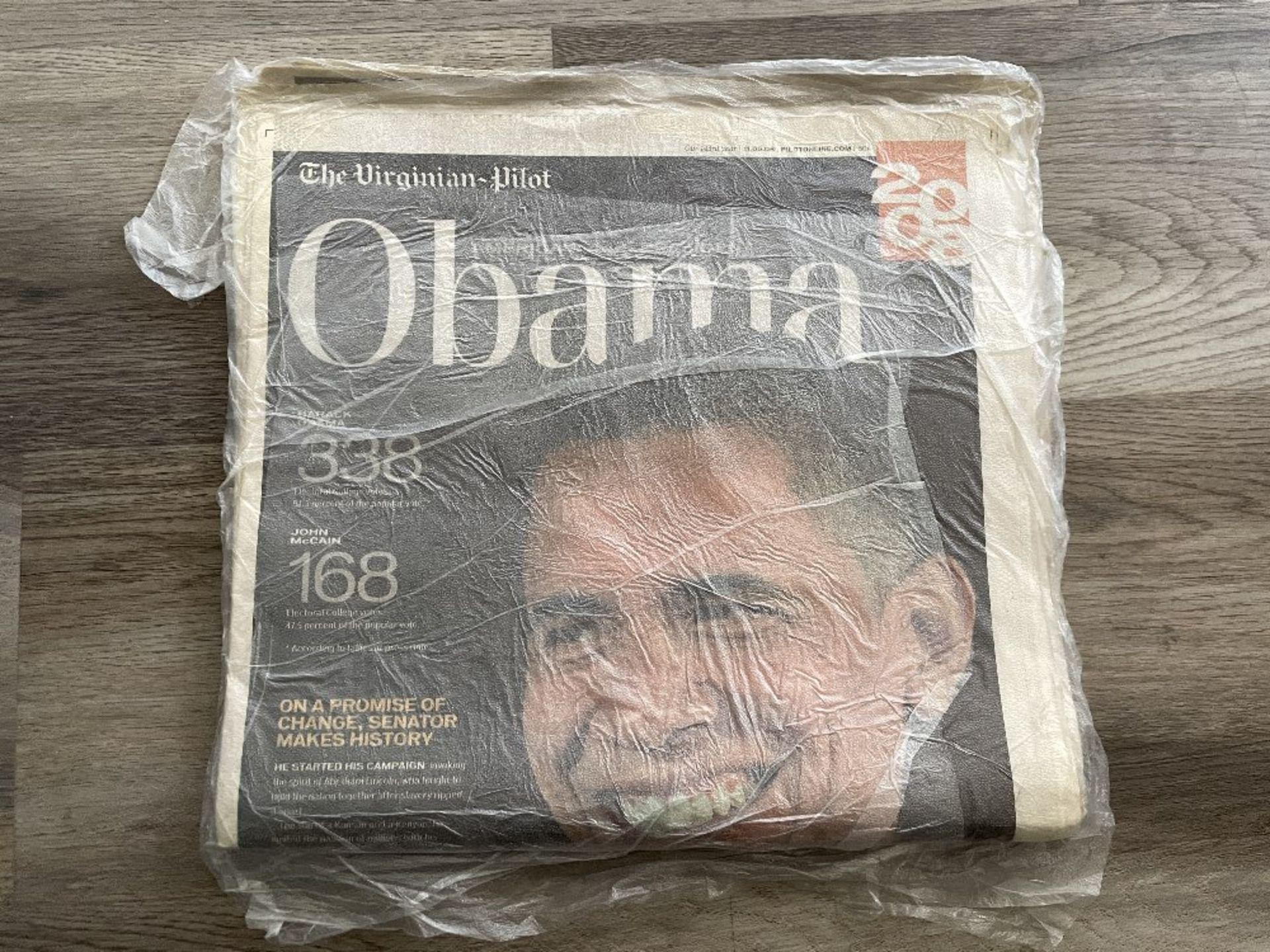 Barack Obama Newspaper from 2008