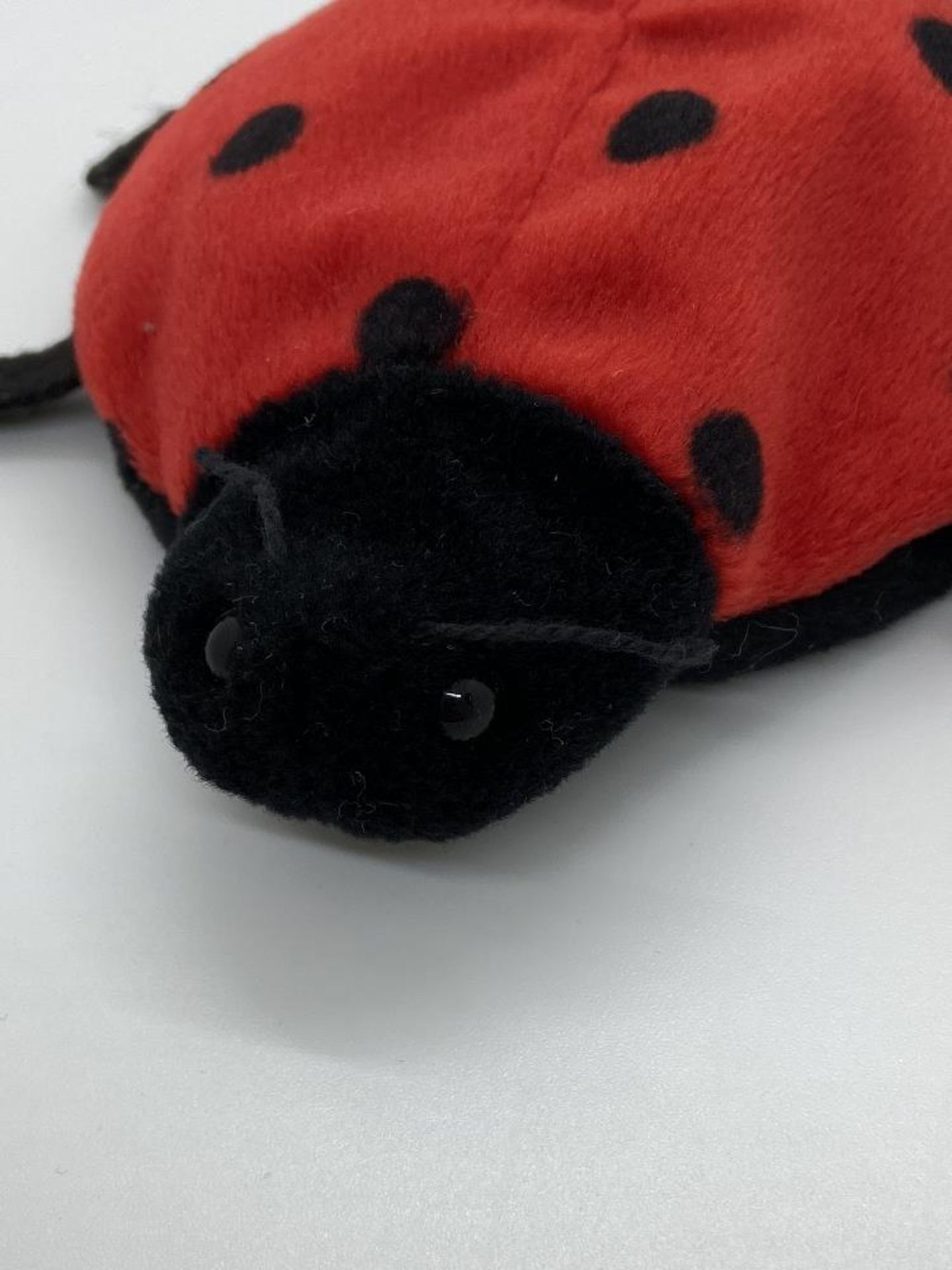 Ty Beanie Babies Lucky, The Ladybug, EARLY GEN 1993, PVC Pellets, w/o Hang Tag - Image 4 of 6