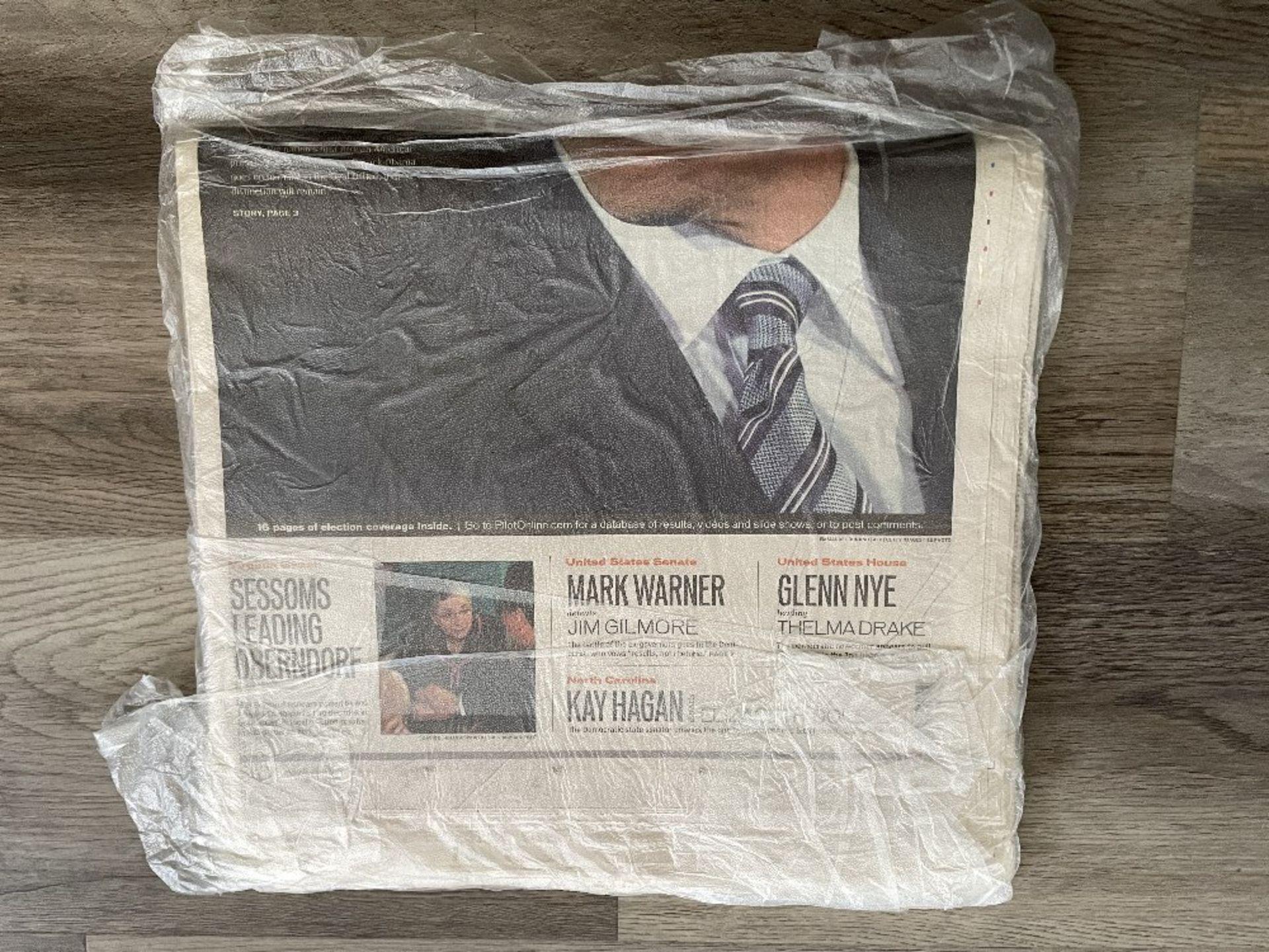 Barack Obama Newspaper from 2008 - Image 3 of 3