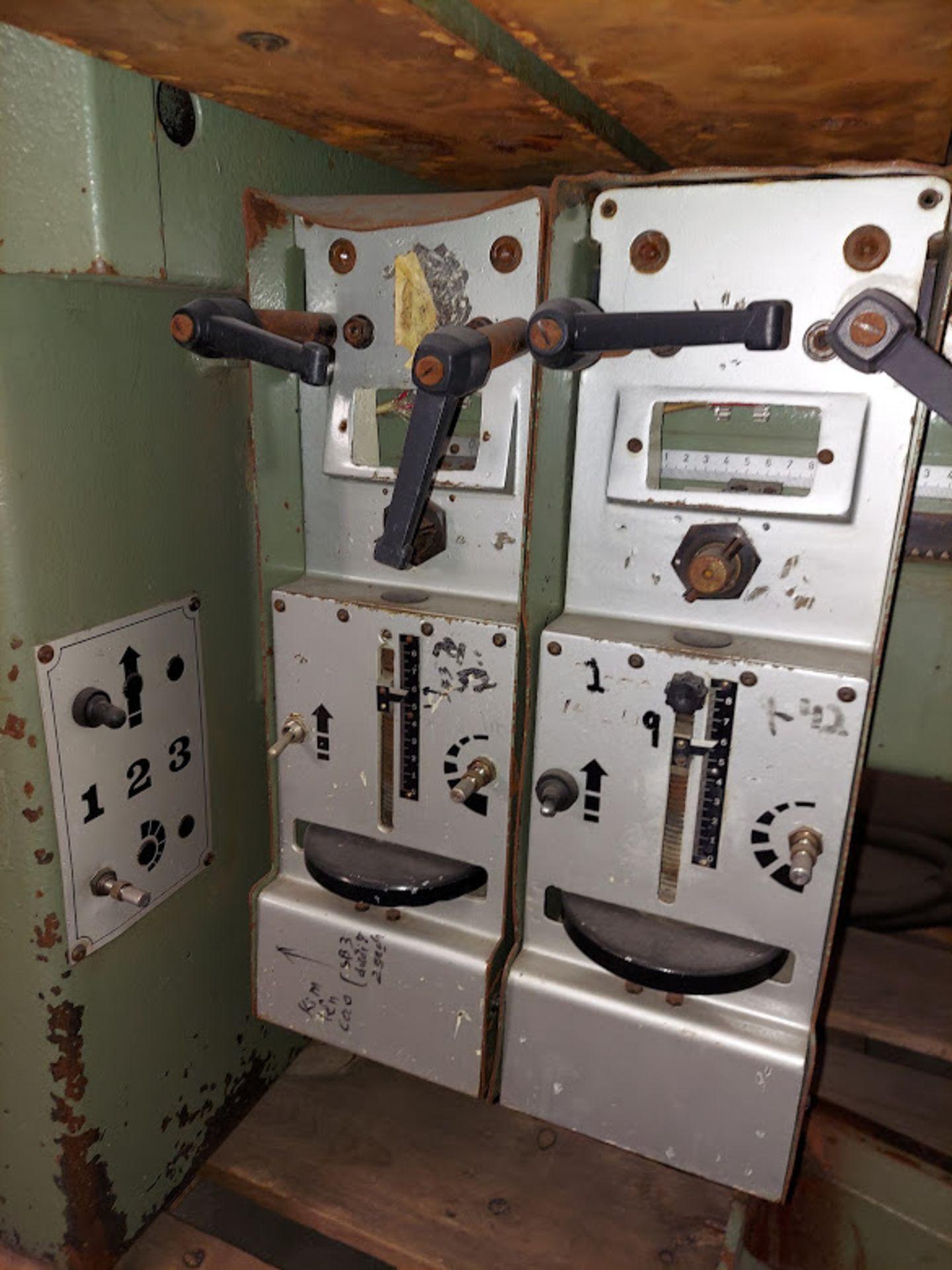 Zangheri & Boschetti Mulit Mat P3 Line Boring Machine, Model #MP3, 1 - 21 Spindle Horizontal Drill - Image 7 of 7
