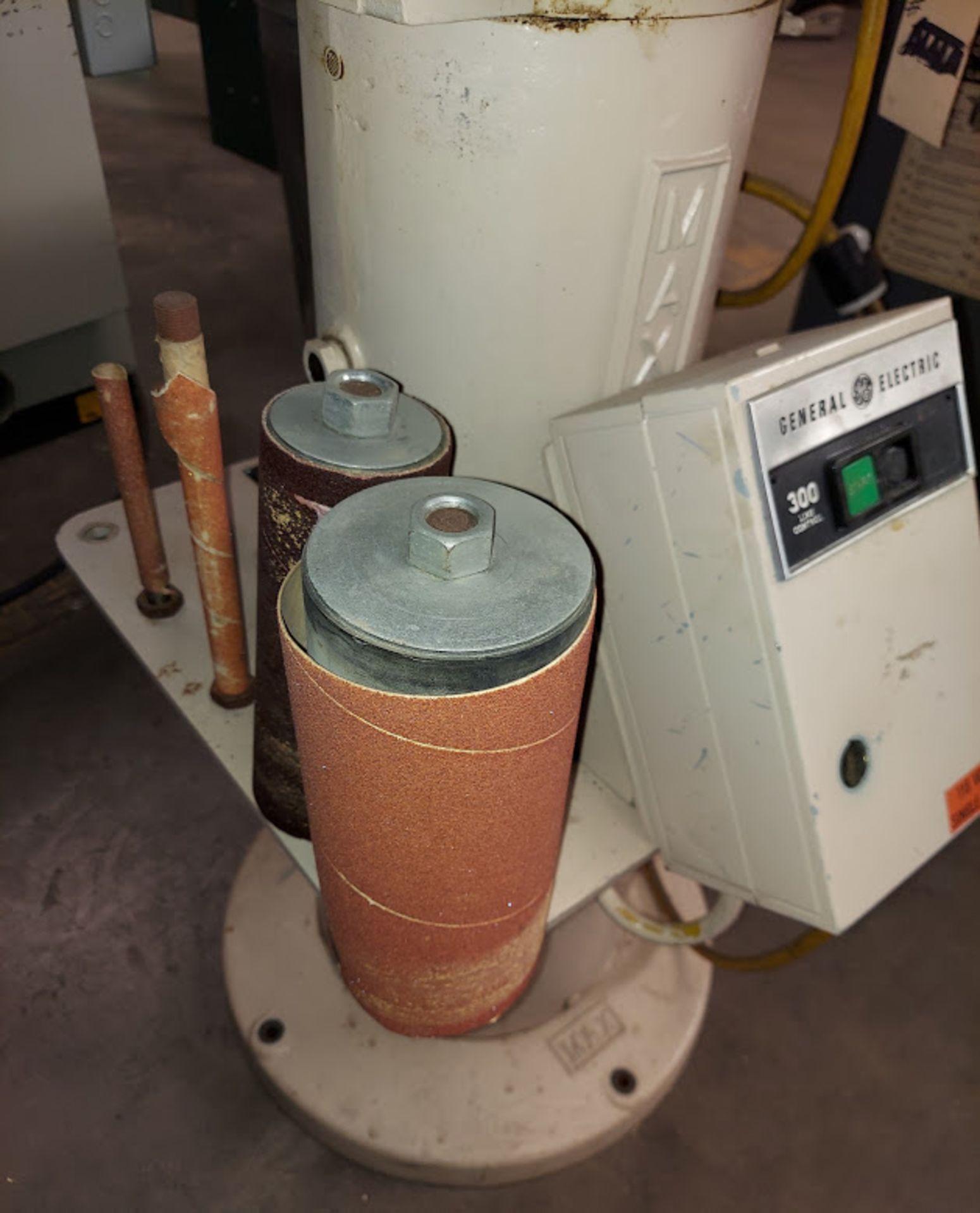 Max Industrial Oscillating Vertical Spindle Sander, Model #VSI-15, 5 - Spindles & Plates, 115 Volts - Image 4 of 5