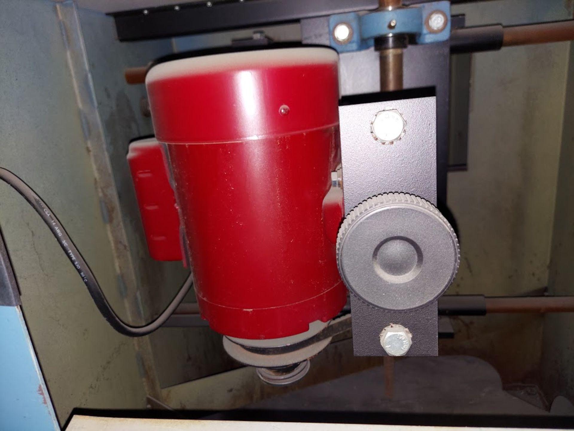 Larick Machinery Profile Sander, Model # 360V, Lesson Variable Speed 1HP 115 Volts Motor - Image 5 of 5
