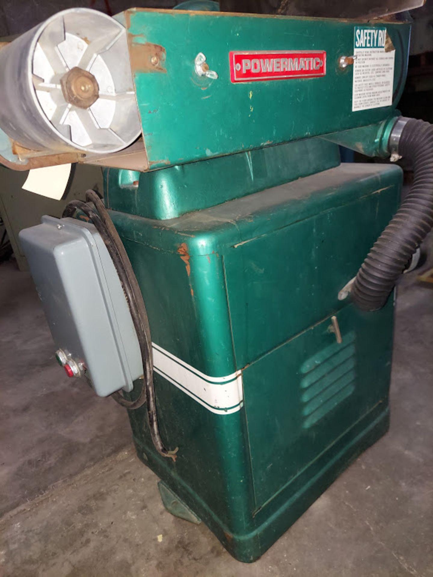 "Powermatic 6"" x 48"" Belt & 12"" Disc Sander, Model #30, 115/230 Volts 1 Phase Motor - Image 3 of 5"