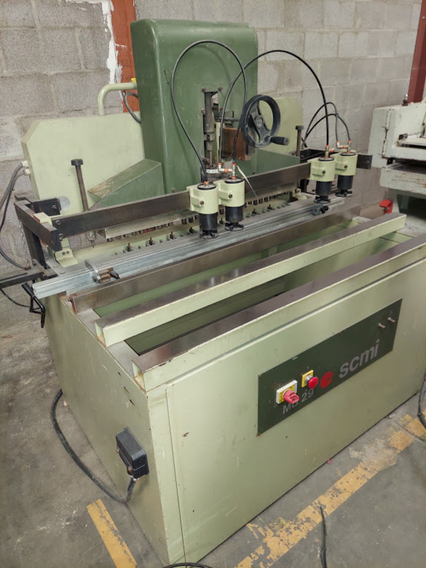 SCMI Construction Line Boring Machine, Model #MB29, 29 Spindles, 230 Volts 3 Phase - Image 5 of 6