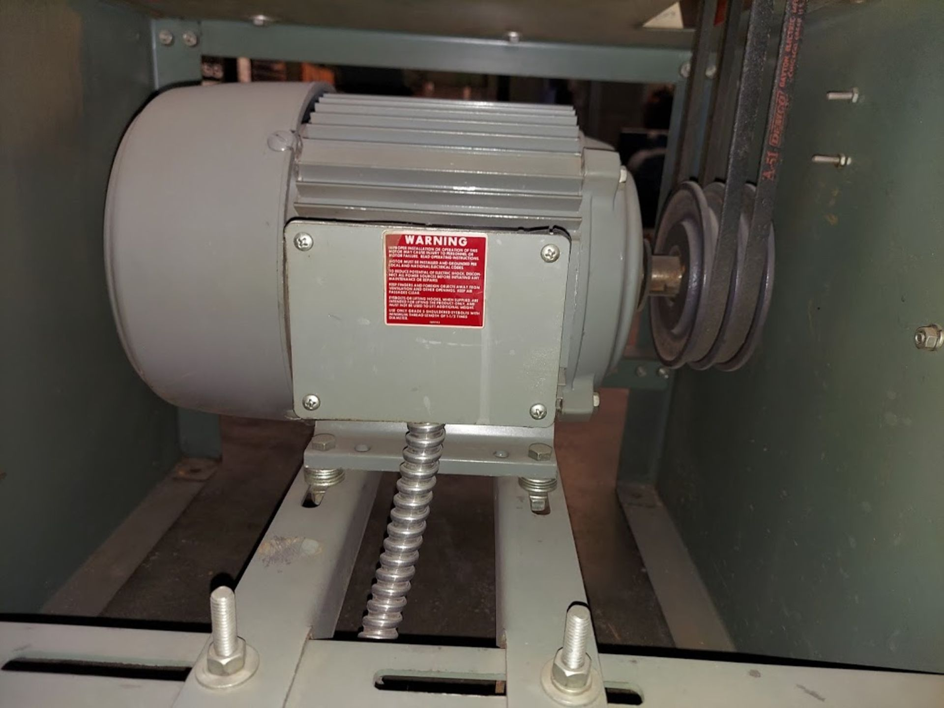 Foley Belsaw Molder Planer, 220 Volts 3 Phase Motor, Model # 9123 - Image 3 of 4