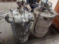 55 Gallon Graco Paint Mixer with 50 Gallon Pressure Pot