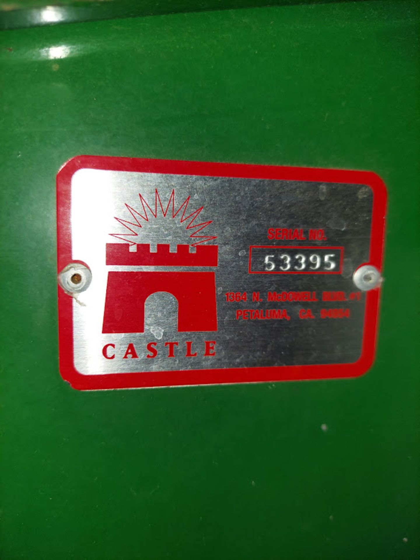 Castle LB-30 Line Boring Machine, Single head with 30 Spindles, 230 Volts 1 Phase - Image 5 of 5