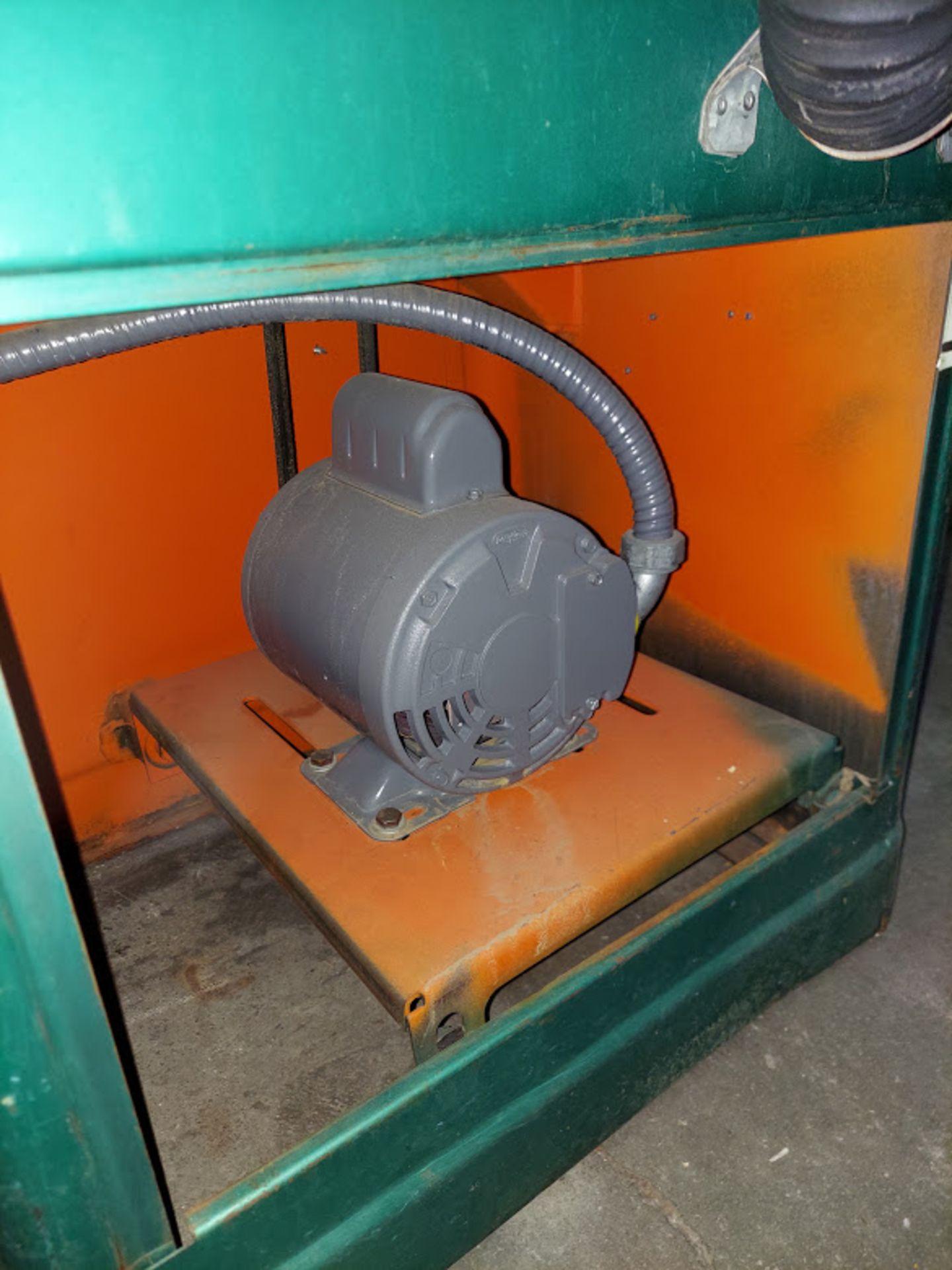"Powermatic 6"" x 48"" Belt & 12"" Disc Sander, Model #30, 115/230 Volts 1 Phase Motor - Image 4 of 5"