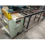 "Lobo 18"" Upcut Saw, Model # CS-18L, 10 HP 230 Volts 3 Phase, Pneumatic, Roller Out Feed Table with"