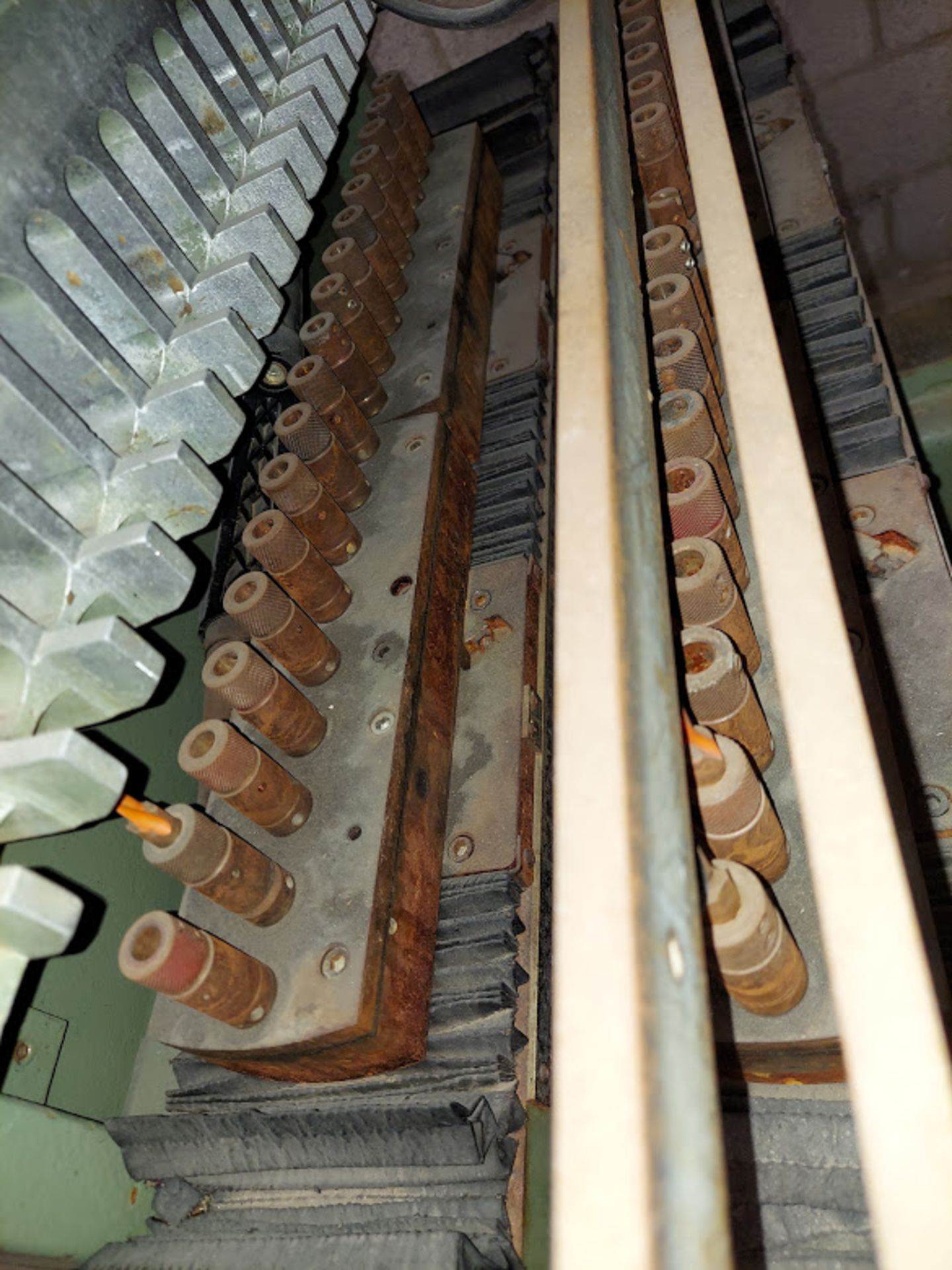 Zangheri & Boschetti Mulit Mat P3 Line Boring Machine, Model #MP3, 1 - 21 Spindle Horizontal Drill - Image 2 of 7