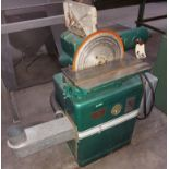 "Powermatic 6"" x 48"" Belt & 12"" Disc Sander, Model #30, 115/230 Volts 1 Phase Motor"