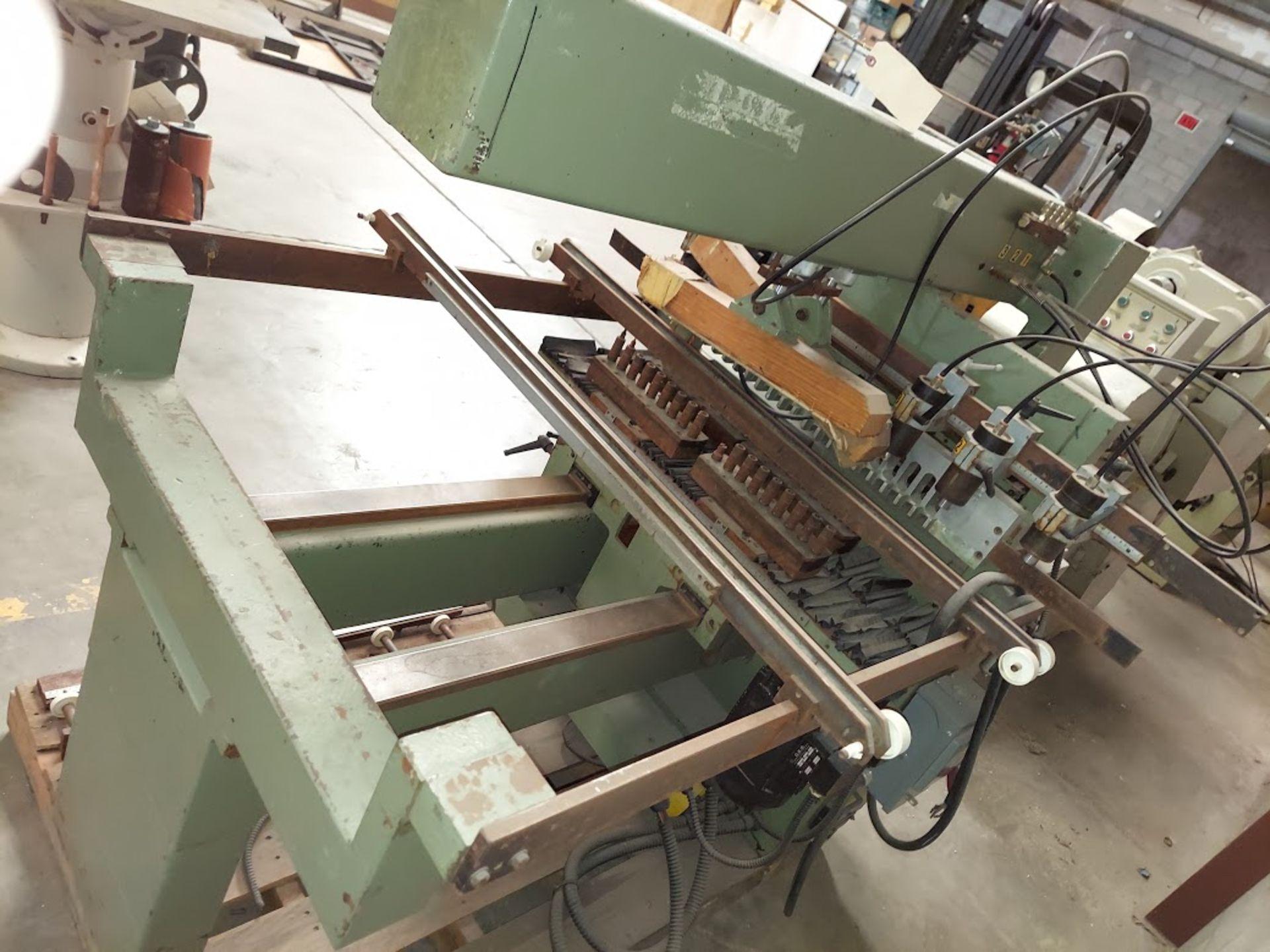 Zangheri & Boschetti Mulit Mat P3 Line Boring Machine, Model #MP3, 1 - 21 Spindle Horizontal Drill - Image 6 of 7