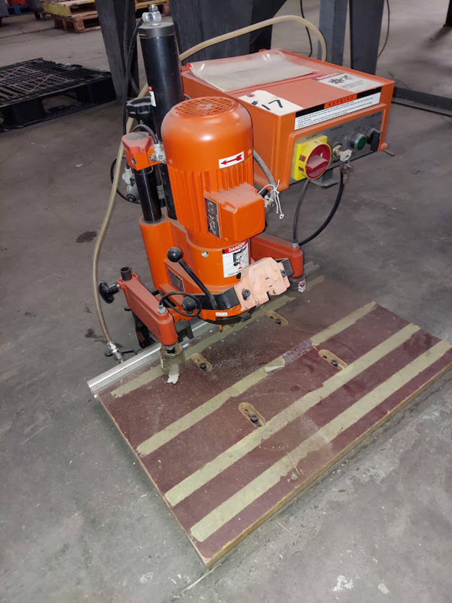 Blum Hinge Boring Machine, Ref #M51N1004 , 0.75 KW 230 Volts 3 Phase