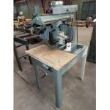 """Delta 12"""" Radial Arm Saw, Model #33-890 115/230 Volts 1 Phase Motor"""