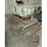 Ogam Heavy Duty Gang Rip Saw, Model #PO-220, 25 HP 220/440 Volt 3 Phase