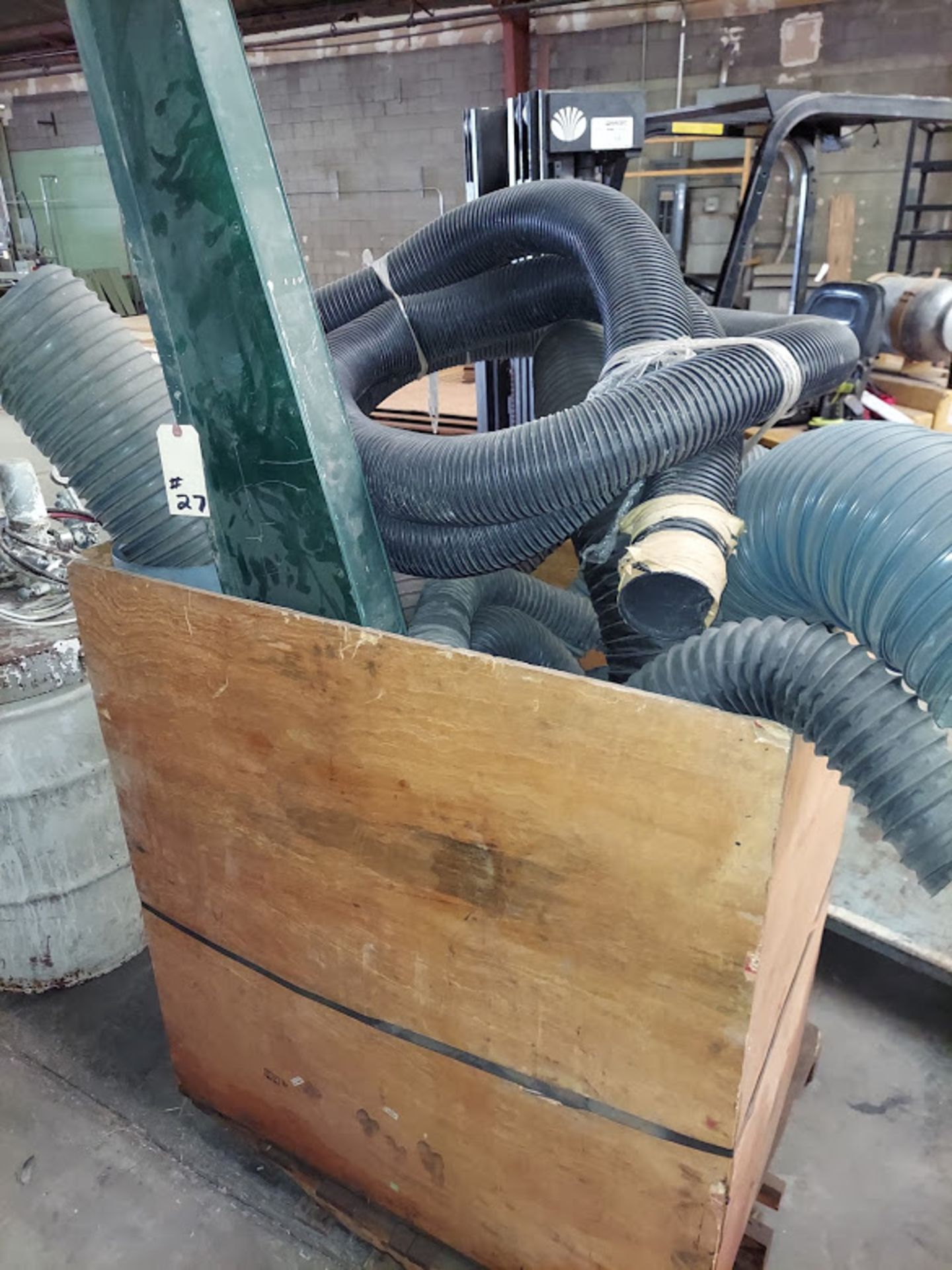 Misc Steel Dust Collecting Fittings & Hoses, Elbows, Blast Gates, Y's, & Reducers
