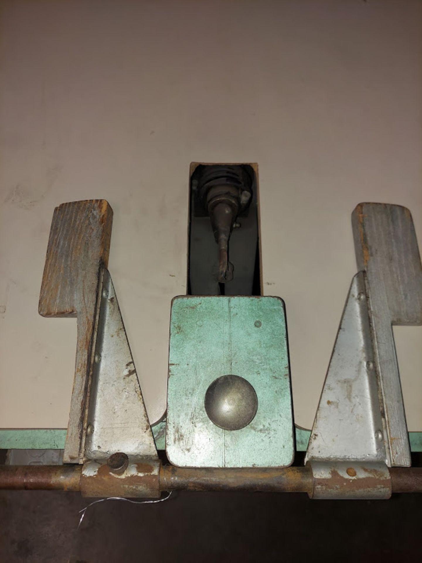 Evans & Royal Pocket Boring Machine, Model # 600, Dayton 115 Volts 1 Phase Motor - Image 2 of 4