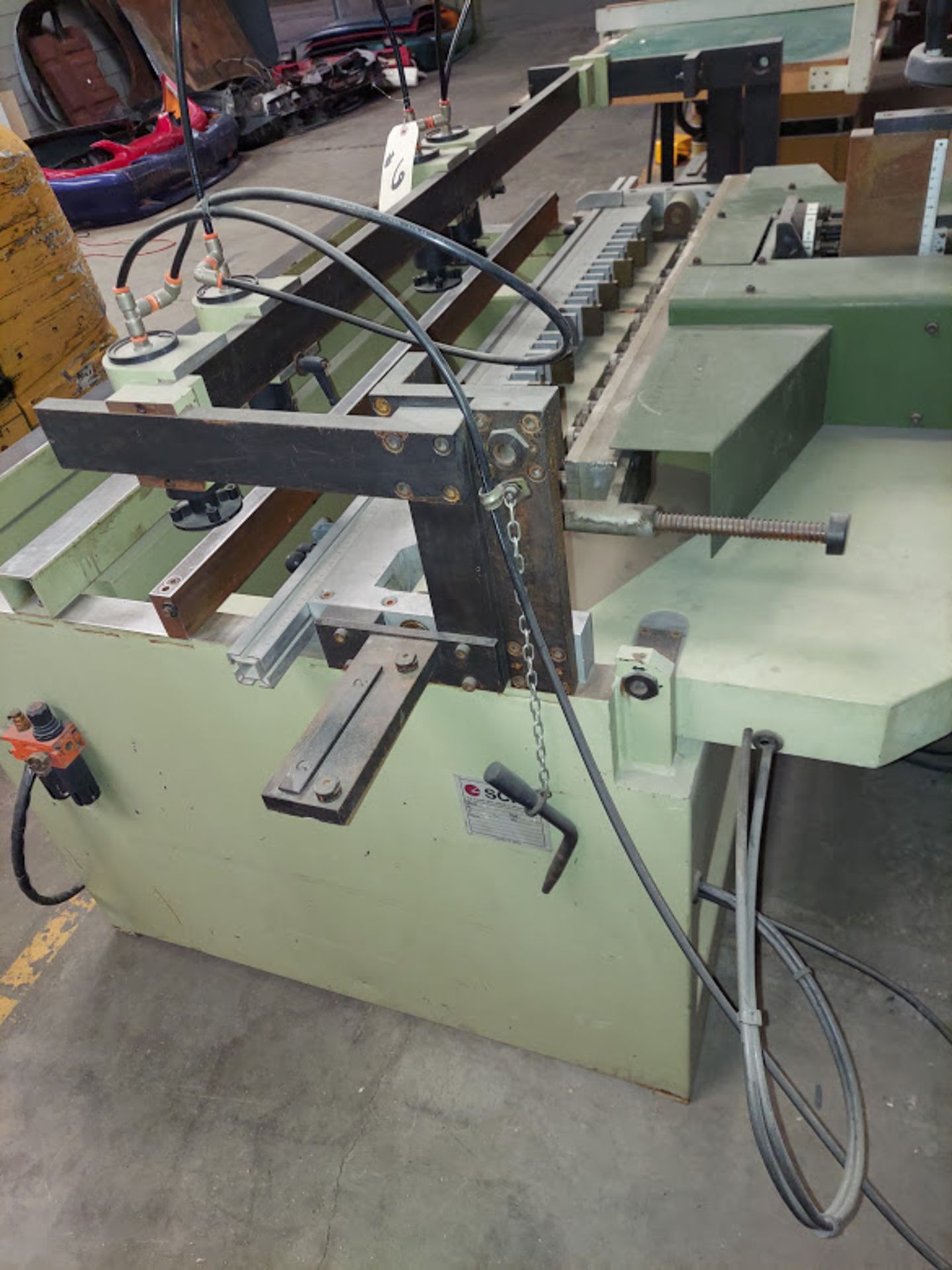 SCMI Construction Line Boring Machine, Model #MB29, 29 Spindles, 230 Volts 3 Phase - Image 4 of 6