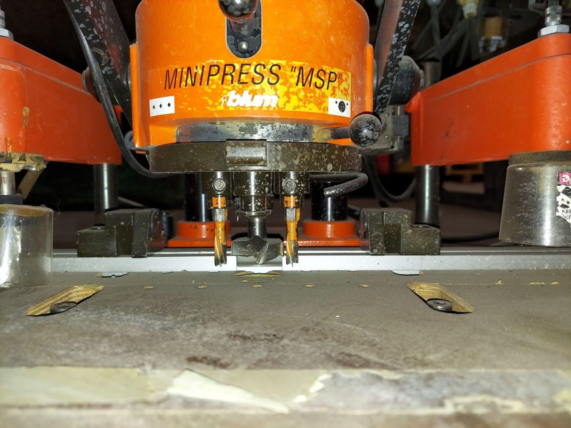 Blum Hinge Boring Machine, Ref #M51N1004 , 0.75 KW 230 Volts 3 Phase - Image 4 of 4