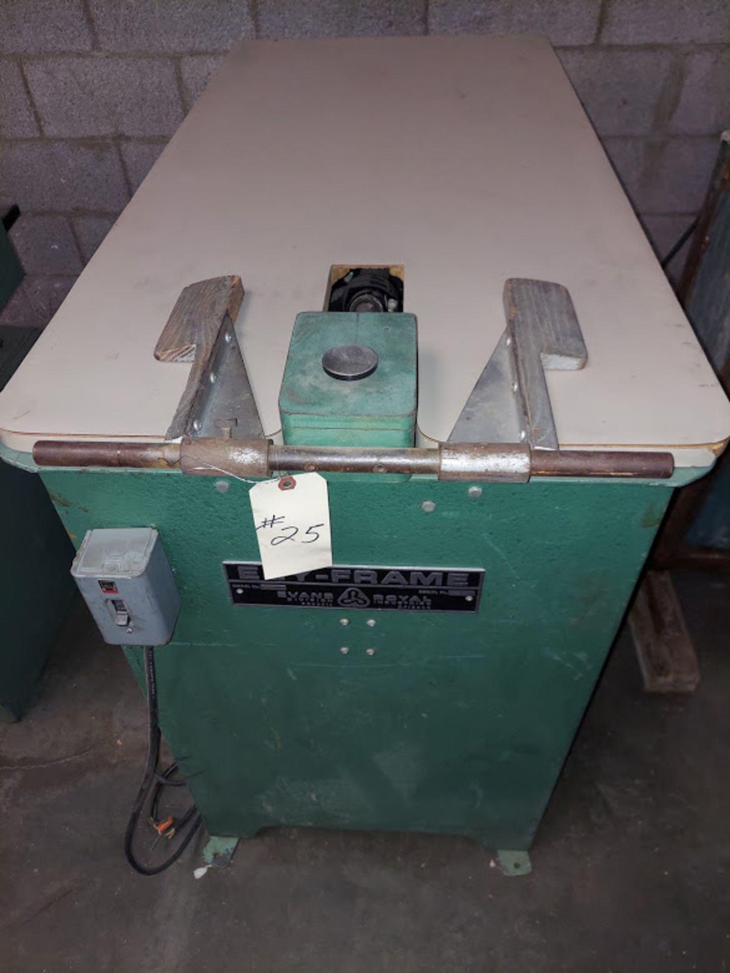 Evans & Royal Pocket Boring Machine, Model # 600, Dayton 115 Volts 1 Phase Motor