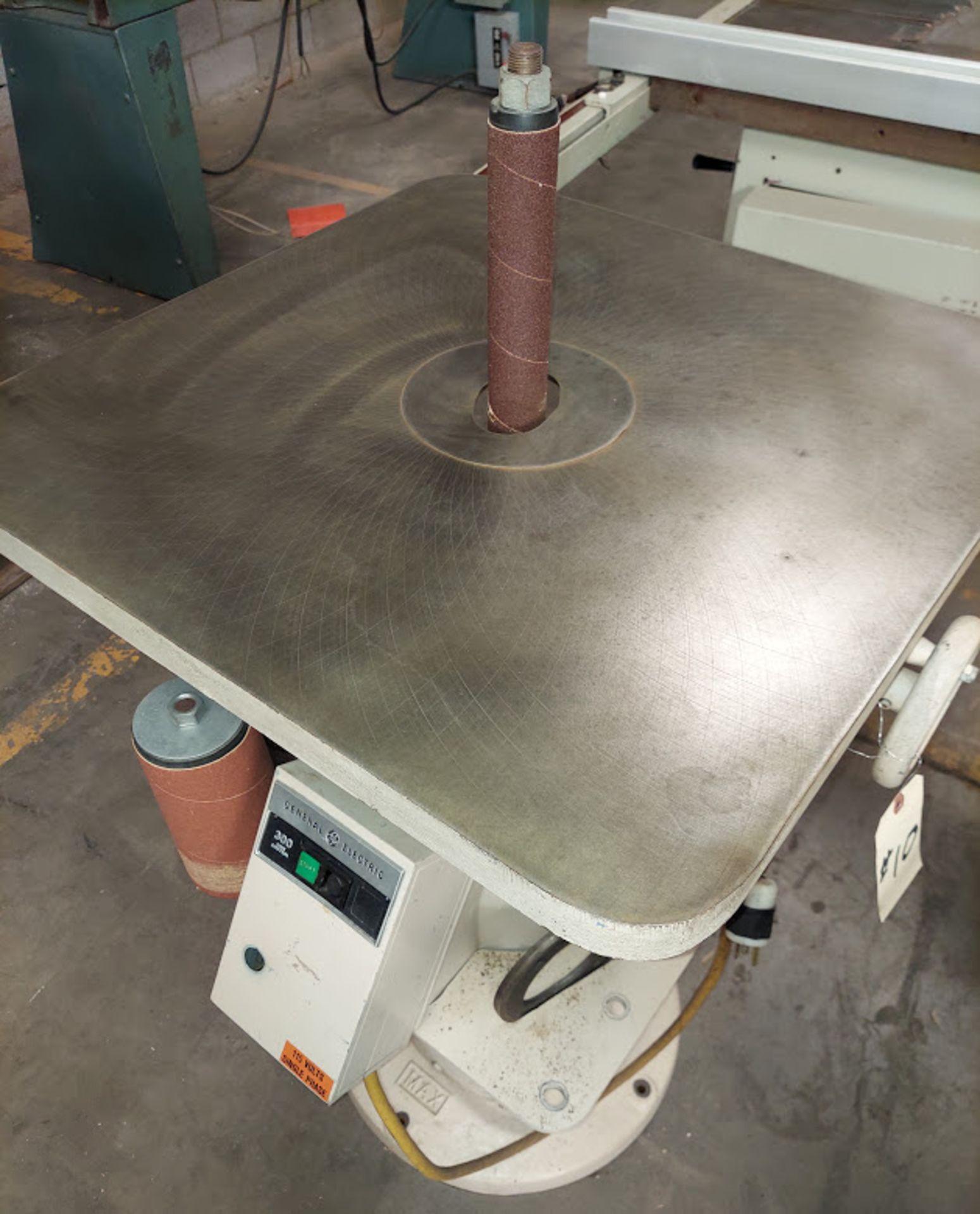 Max Industrial Oscillating Vertical Spindle Sander, Model #VSI-15, 5 - Spindles & Plates, 115 Volts - Image 3 of 5