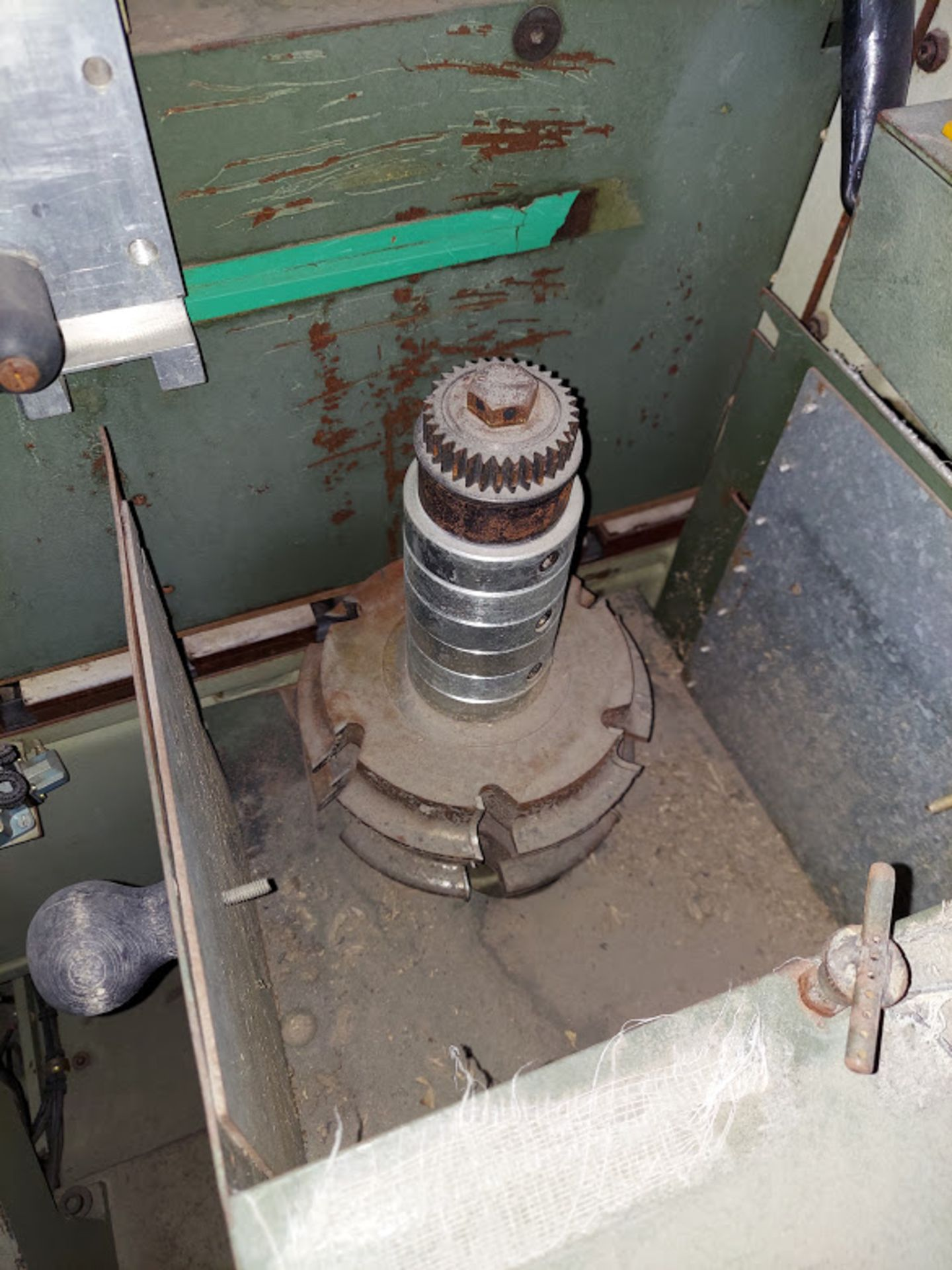 SCMI Center Machine, Model #Center, 1 - Shaper Head 230 Volt 3 Phase, Sanding Station, Power Feed - Image 4 of 7
