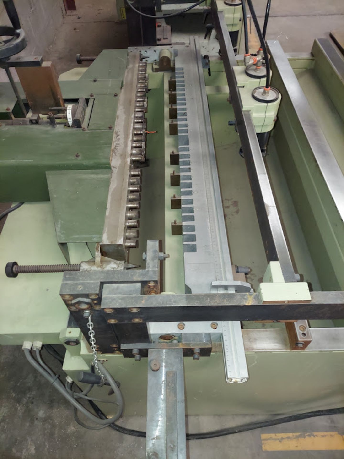 SCMI Construction Line Boring Machine, Model #MB29, 29 Spindles, 230 Volts 3 Phase - Image 2 of 6