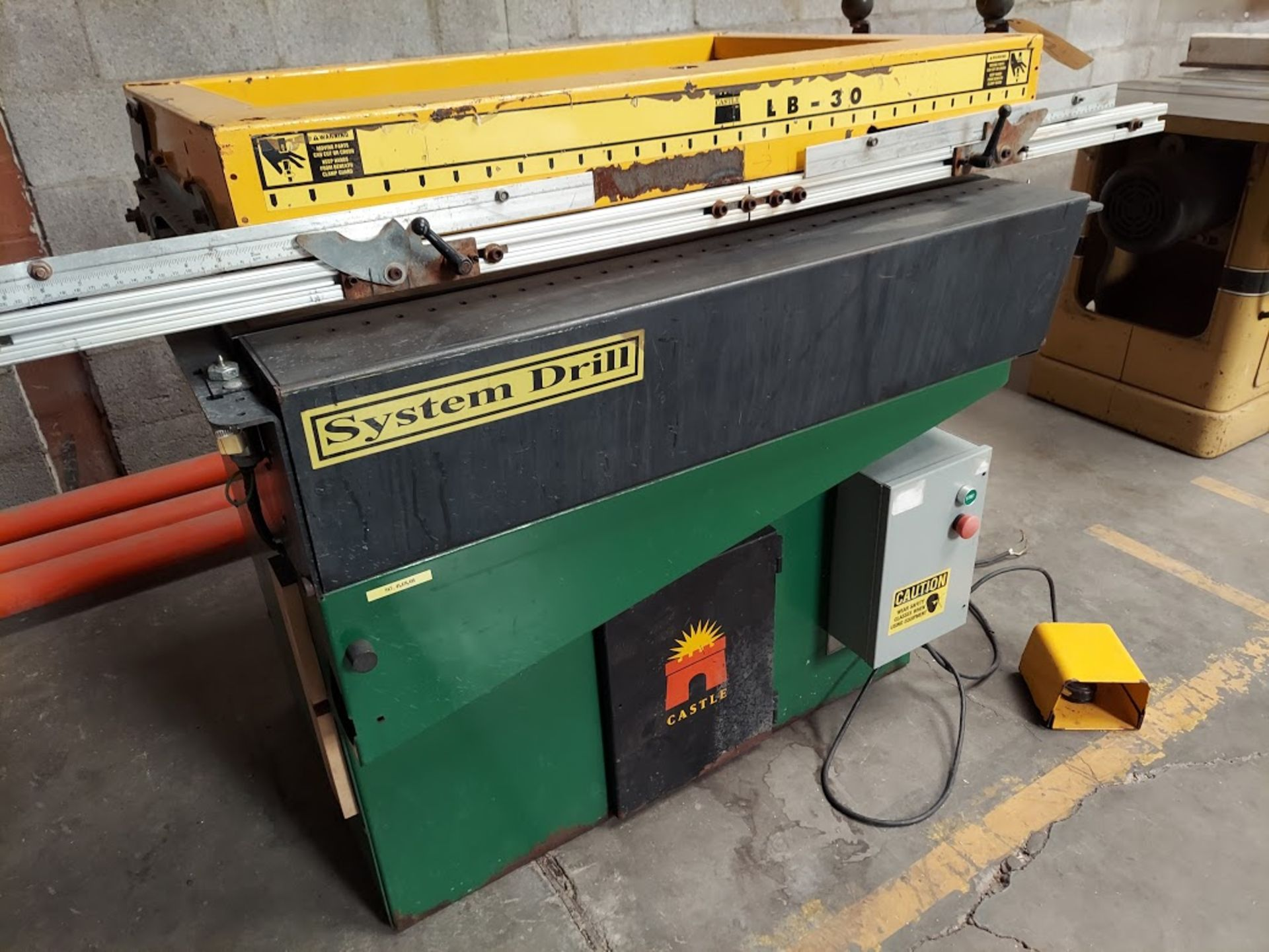 Castle LB-30 Line Boring Machine, Single head with 30 Spindles, 230 Volts 1 Phase