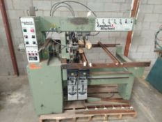 Zangheri & Boschetti Mulit Mat P3 Line Boring Machine, Model #MP3, 1 - 21 Spindle Horizontal Drill