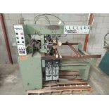 Zangheri & Boschetti Mulit Mat P3 Line Boring Machine, Model #MP3, 1 - 21 Spindle Horizontal Drill
