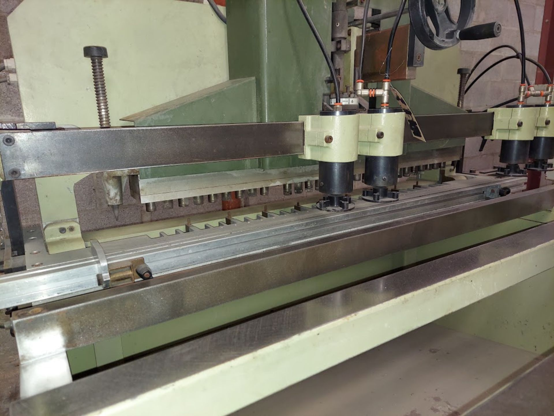 SCMI Construction Line Boring Machine, Model #MB29, 29 Spindles, 230 Volts 3 Phase - Image 6 of 6